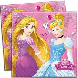 I am Princess Parti Szalvéta - 33 cm x 33 cm, 20 db-os