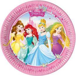 I am Princess Parti Tányér - 23 cm, 8 db-os