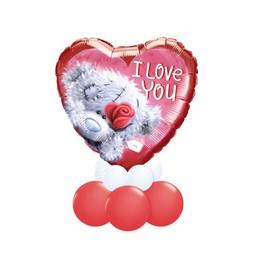 I Love You Maci Mintás Valentin-napi Asztali Lufidísz
