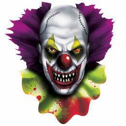 Creepy Carnival - Ijesztő Bohóc Karton Dekoráció Halloween-re