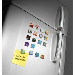 iPhone App Hűtőmágnes Szett