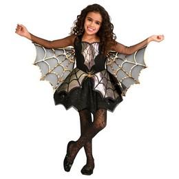 Irizáló Pók Jelmez Halloween-re Kislányoknak, 10-12 Éveseknek