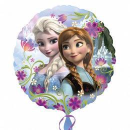 Jégvarázs - Elsa & Anna Fólia Lufi, 43 cm