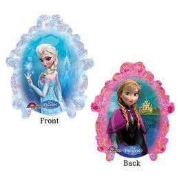 Jégvarázs - Frozen Mini Shape Fólia Lufi