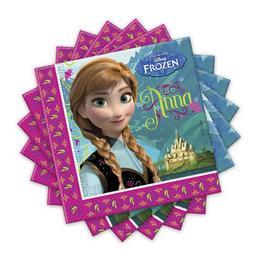 Frozen - Jégvarázs Parti Szalvéta - 33 cm x 33 cm, 20 db-os