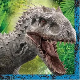 Jurassic World Parti Szalvéta - 16 db-os