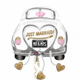 Esküvői Autó Fólia Lufi Esküvőre, 58 cm
