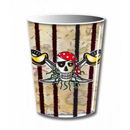 Kalóz - Red Pirate - Parti Pohár - 250 ml, 8 db-os