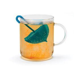 Kék Esernyő Formájú Teafilter