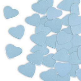 Kék Papír Szív Konfetti, 300 gr-os