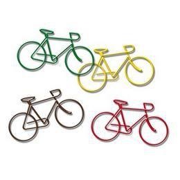 Kerékpár Formájú Gémkapcsok