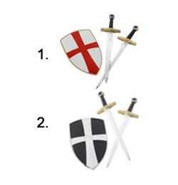 Keresztes Lovag Szett