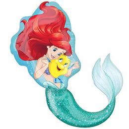 A Kis Hableány - Ariel Little Mermaid Super Shape Fólia Lufi