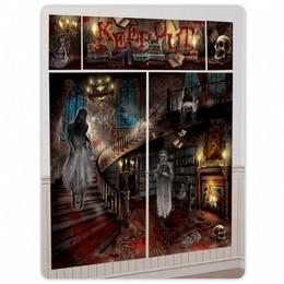Kísértetház - Haunted Mansion Halloween Parti Dekoráció