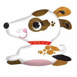 Kölyökkutya - Puppy Super Shape Héliumos Fólia Lufi, 78 cm