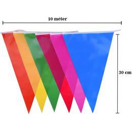 Egyszínű Zászlófüzérek