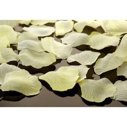 Krémszínű Dekorációs Virágszirom - 100 db-os