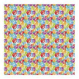 Léggömbös Szülinapi Parti Csomagolópapír - 150 cm x 76 cm