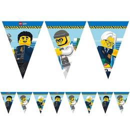 Lego City Parti Zászlófüzér