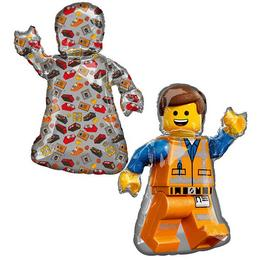 Lego Movie 2 Emmet Super Shape Fólia Lufi