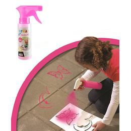 Lemosható Graffiti Spray - Rózsaszín