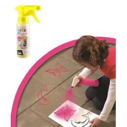Lemosható Graffiti Spray - Sárga