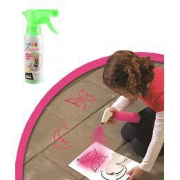 Lemosható Graffiti Spray - Zöld