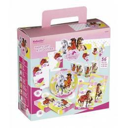 Charming Horses - Lovas Parti Szett Dobozban - 56 db-os