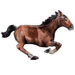 Nagy Ló - Lovas Fólia Lufi, 101 cm