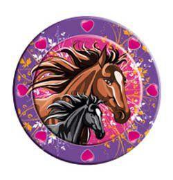 Lovas - I Love Horses - Parti Tányér - 23 cm-es, 8 db-os