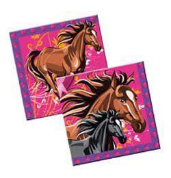 Lovas - I Love Horses - Parti Szalvéta - 33 cm x 33 cm, 20 db-os