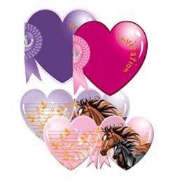 Lovas - I Love Horses - Parti Meghívó és Boríték - 8 db-os