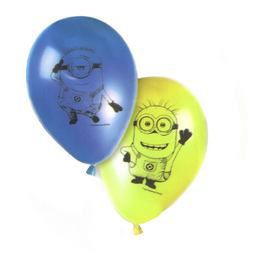 Lovely Minions Parti Lufi - 28 cm, 8 db-os