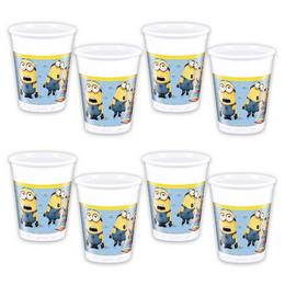 Lovely Minions Parti Pohár, 200 ml, 8 db