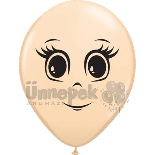 16 inch-es Feminine Face Blush Lufi (10 db/csomag)