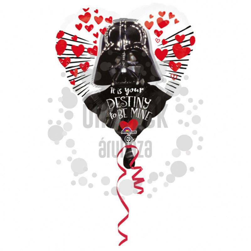18 inch-es Star Wars Love Szerelmes Szív Fólia Lufi