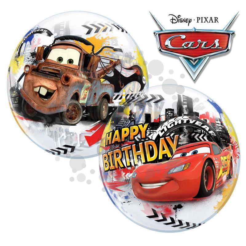 autós szülinapi képek Disney Verdák   Cars Lightning McQuenn Birthday Szülinapi Bubbles Lufi autós szülinapi képek