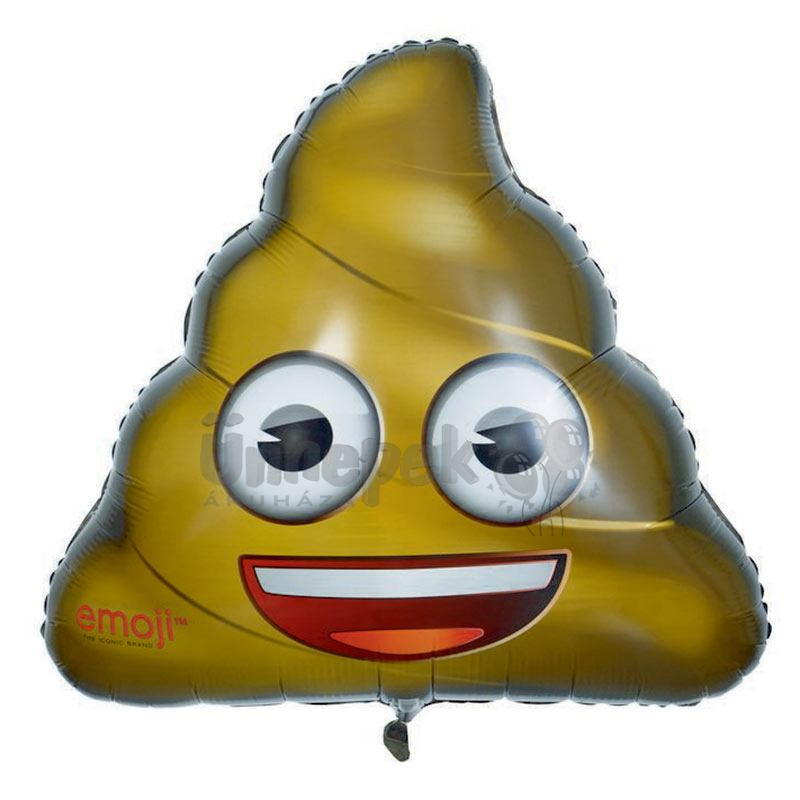 32 inch-es Emoji - Kaki Héliumos Fólia Lufi bb820c1830