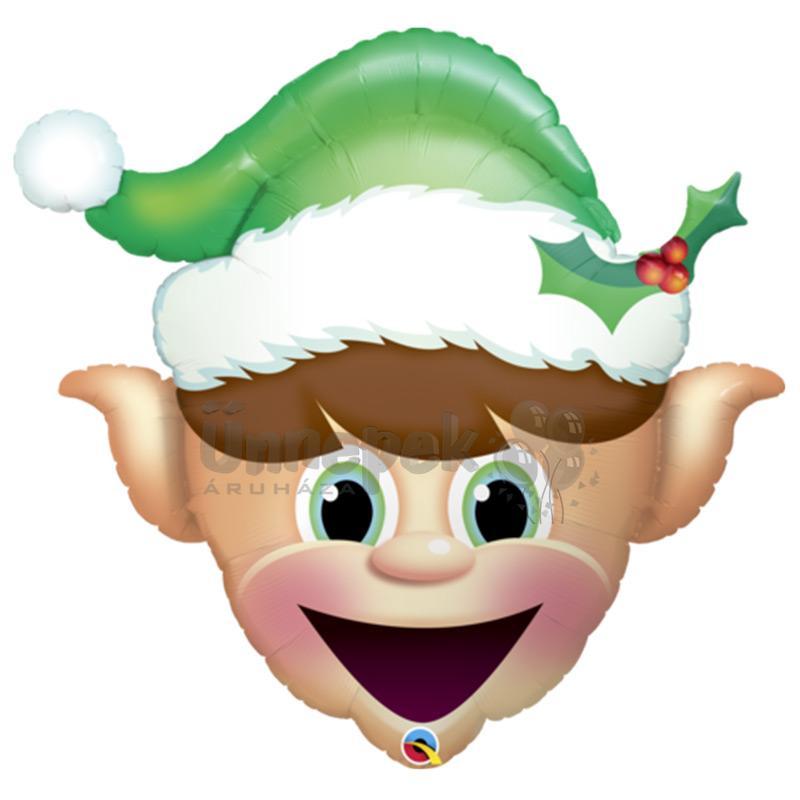 35 inch-es Christmas Elf Karácsonyi Fólia Lufi