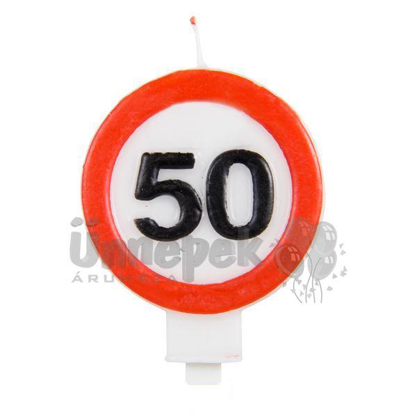 50-es Sebességkorlátozó Gyertya