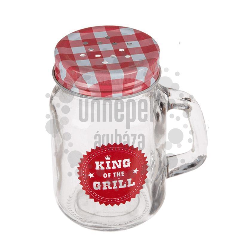 Ajándék - Mini Befőttes Üveg Sószóró