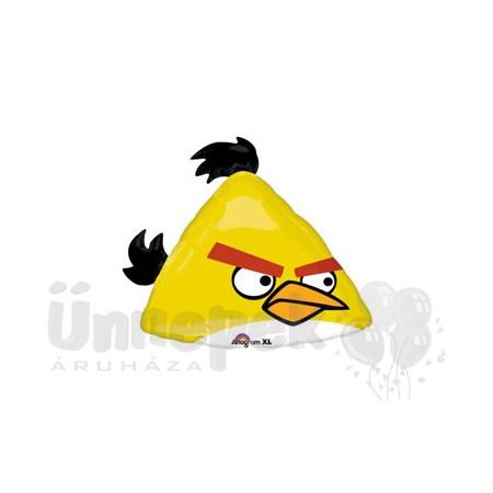 Angry Birds - Sárga Madár Super Shape Héliumos Fólia Lufi