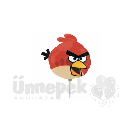 Angry Birds - Red Bird Mini Shape Fólia Lufi Pálcán