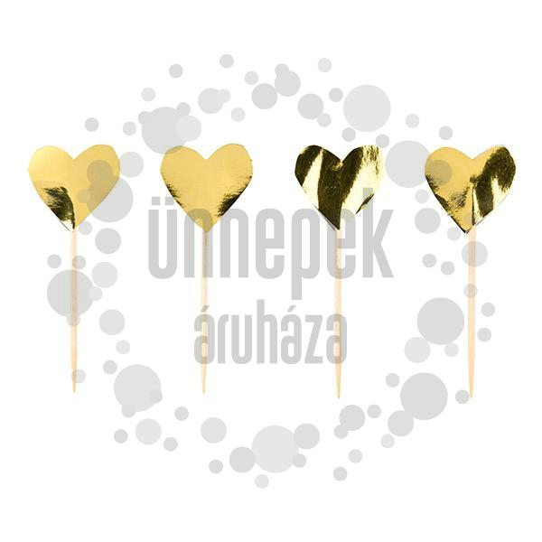 Arany Szív Falatka Pálcika, 24 db-os
