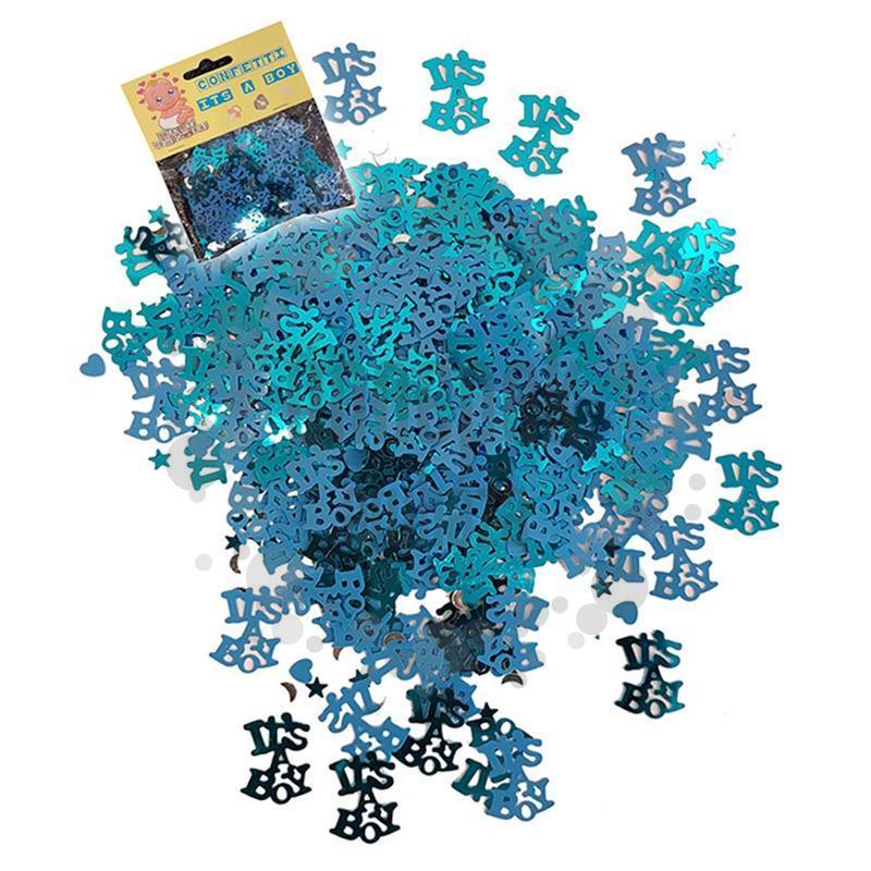 Babaszületésre Kisfiús - Its a Boy Kék Konfetti - 14 gramm