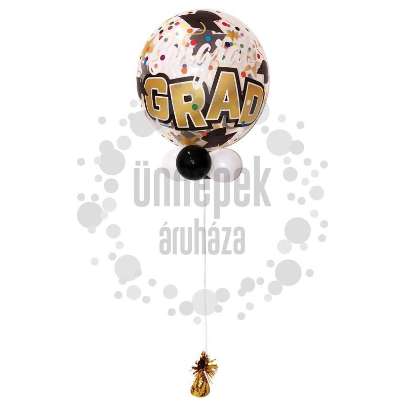Ballagási Bubbles Lufi Kompozíció