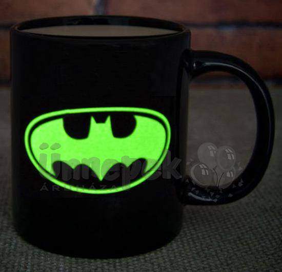 Batman Világító Bögre  4792a30c6c