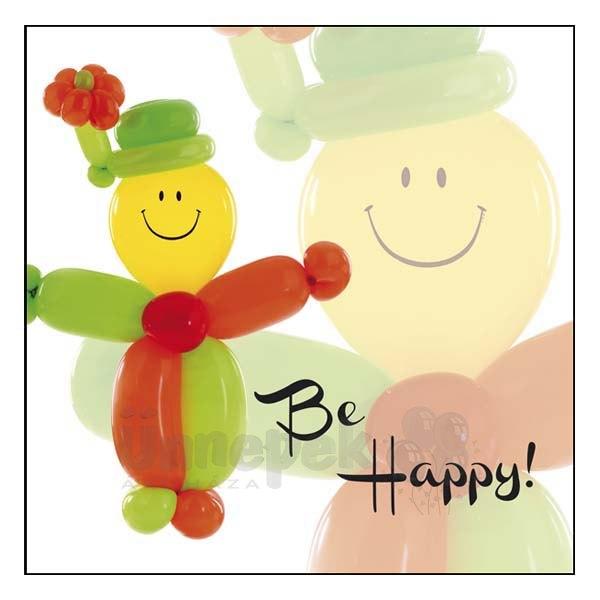 Be Happy! - Az élet szép! - Lufis Képeslap