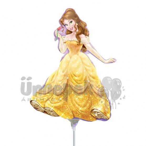 Belle (Szépség) Mini Shape Fólia Lufi Pálcán
