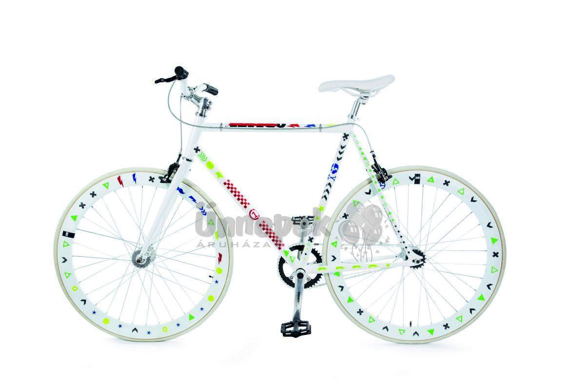 dfcf23e540 Zöld Háromszögek Bicikli Matrica | Party Kellékek Webshop
